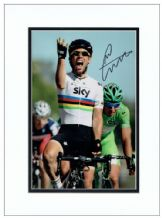 Mark Cavendish Autograph Photo Signed